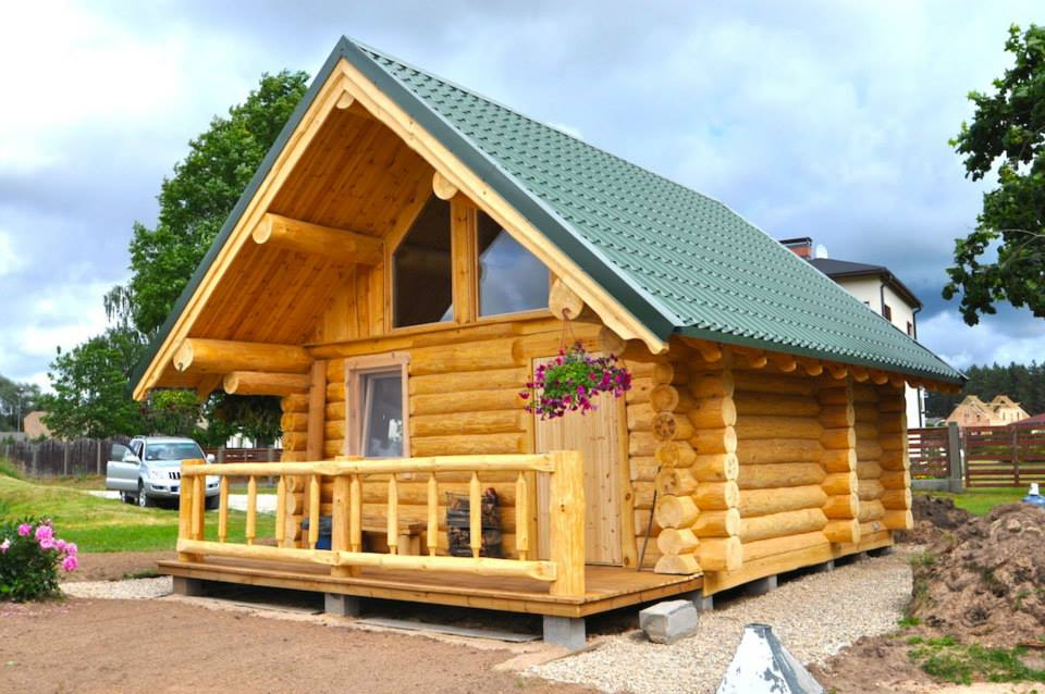 Garden Log Cabin Shop Egf Log Homes